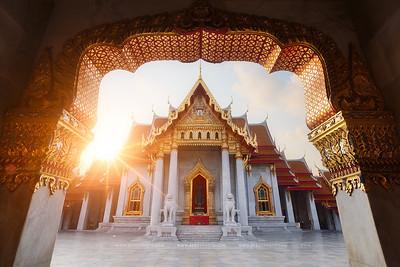 Temple de Marbre, Bangkok