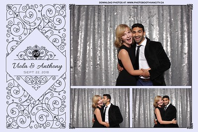Viola Weds Anthony