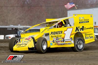 60 Over Special @ Bridgeport Speedway - 3/30/19 - John Cliver