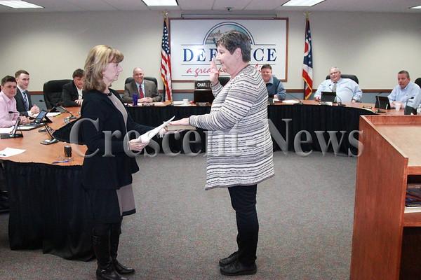 01-26-16 News Jill Krutsch council swearing in