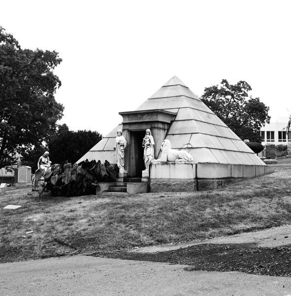 The Van Ness Parsons Pyramid Mausoleum - Green-Wood Cemetery, Brooklyn