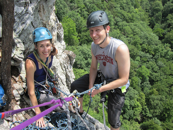 Seneca Rocks Climbing - July 2011