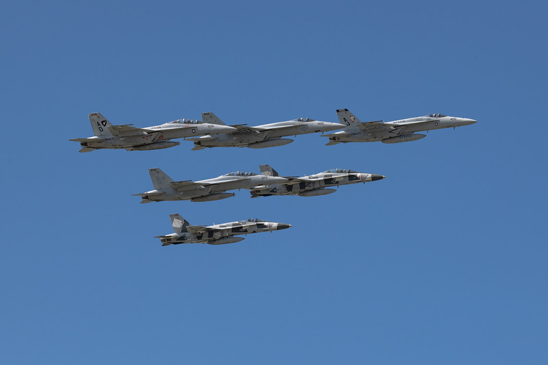 NAS Oceana Fleet Fly-By