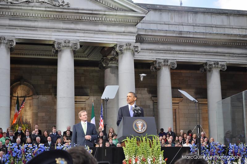 Barack Obama in Dublin
