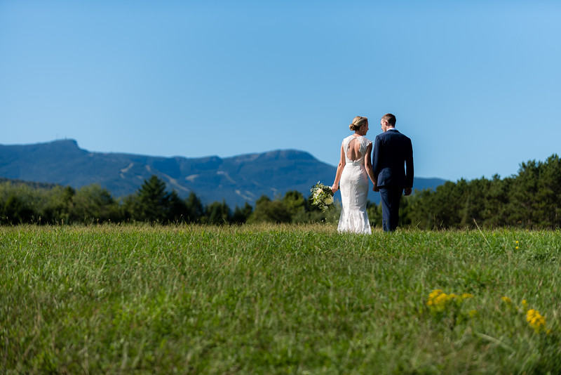 Stowe Wedding Zach + Amber First Look Portrait Photography