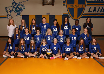 7-8th vball team photo