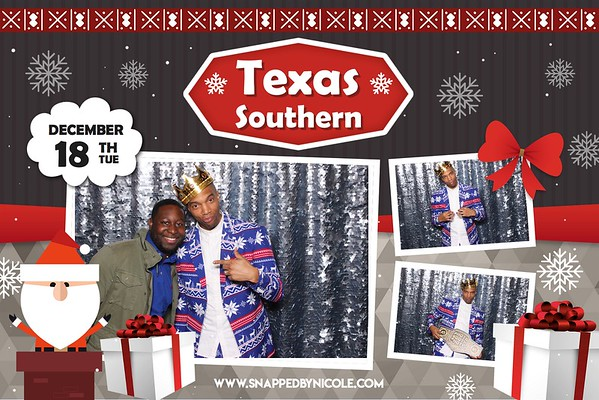 Happy Holidays Student Services of Texas Southern 12.18.18