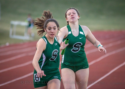 Falcon Relays 4x400 meters - Girls
