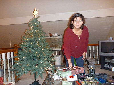 12-01 - Decorating the Loft Christmas Tree - Smyrna, GA