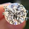 3.86ct Old European Cut Diamond GIA K VS2 12