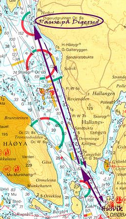 Tur til Digerud med DKK - 13. august 2015