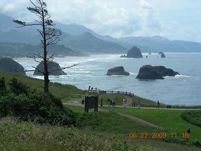 Alaska Cruise Day10: Oregon coast: Cannon Beach to Tillamook