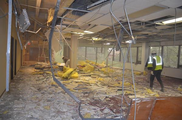 Feb 20 2019 - Demolition continues