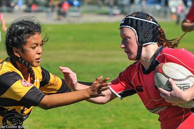Varsity Girls Rugby - 2-4-2017