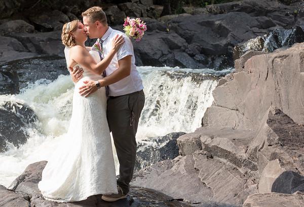 Ragged Falls Wedding Photos Sept 05 2015