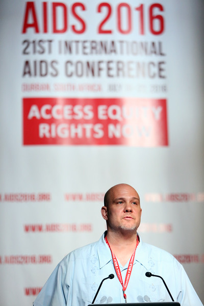 21st International AIDS Conference (AIDS 2016), Durban, South Africa. AIDS 2016 Pre-Conference Report Back (FRSS02) Friday 22nd July 2016 : Venue - Durban ICC - Session Room 7 Pato Hebert, MSMGF, United States  Photo©International AIDS Society/Abhi Indrarajan