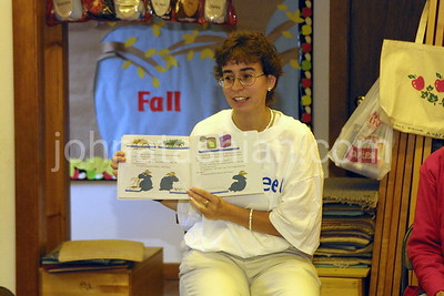 Fleet Bank - Book Reading - September 26, 2001