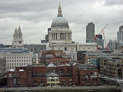 St. Paul's to the Tate Modern