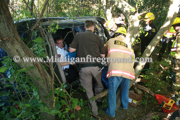 9/26/13 - Mason extrication, Waverly Rd north of Bunker Rd