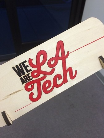 WeAreLATech Club Laser Cutting