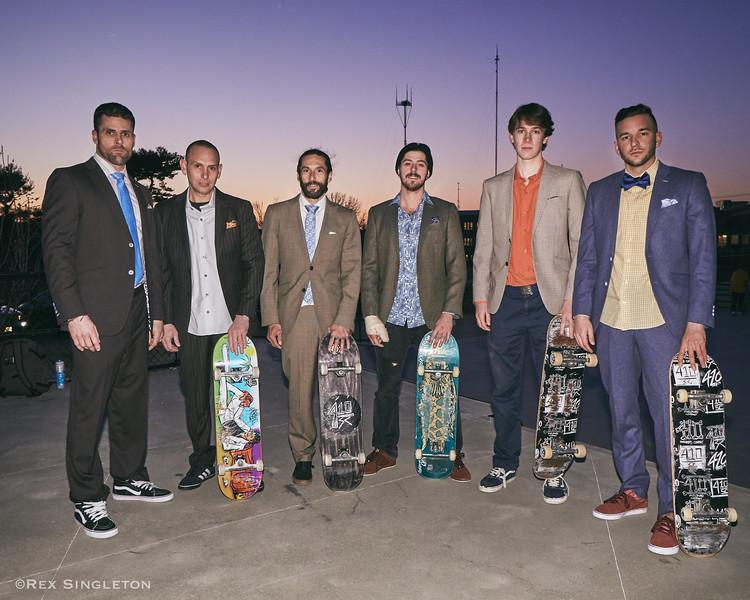 410 Skateboard suit shoot