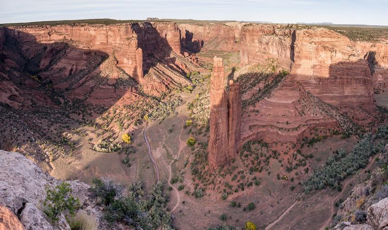 Long Shadows Spyder Rock Canyon de Chelly