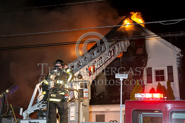Melrose MA - 3 Alarms on Lebanon St