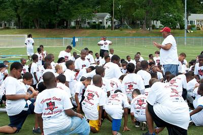 2012 Thomas Davis Defending Dreams Football Camp