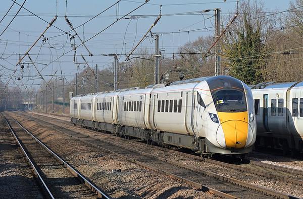 Trains February 2019