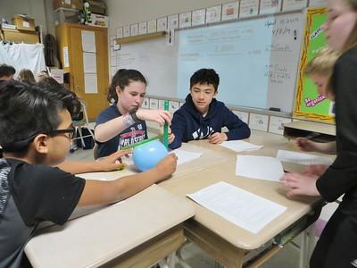 Classroom of the Week   Paula Duhon's sixth-grade science class at Lee Elementary