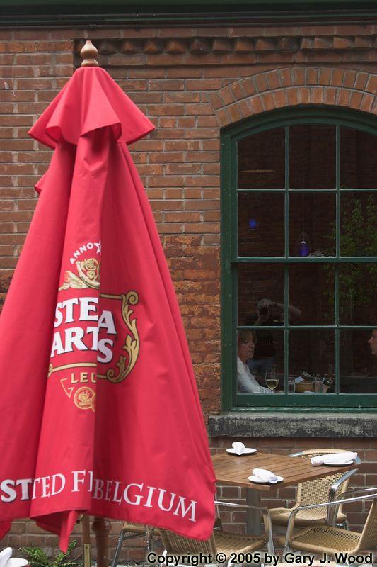 Umbrella and Window