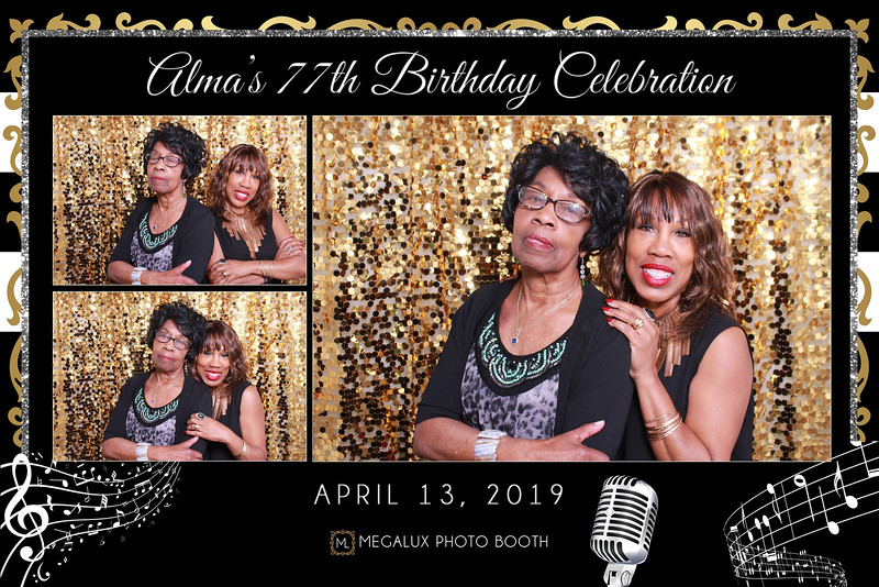 Alma's 77 Birthday Celebration 04-13-19