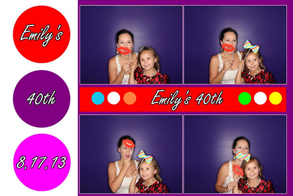 Emily's 40th Birthday