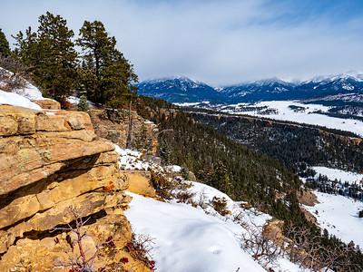 XC Ski to Sally's Overlook