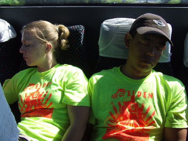 2008 Kamp Gemini ballenbad foto's Sandra