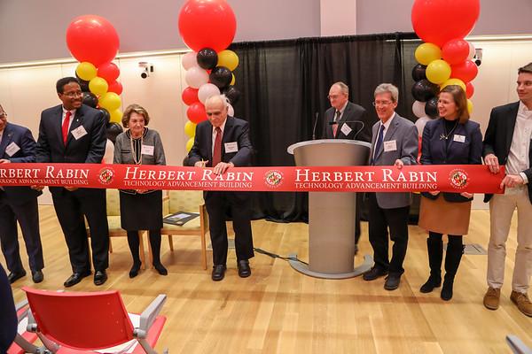 Herbert Rabin Building Dedication, Fall 2018