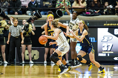 Purdue vs Michigan Women Basketball