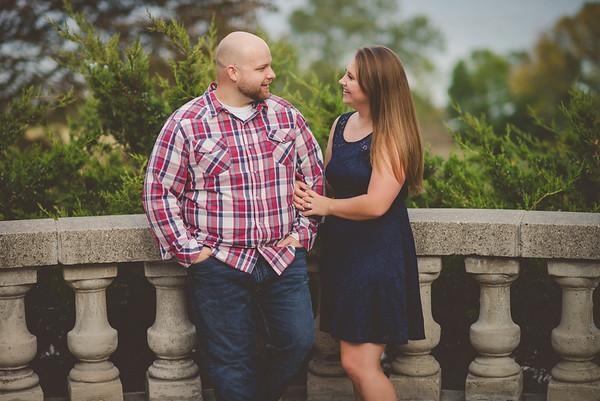 Melissa + Justin | Lake Park Engagement Photography