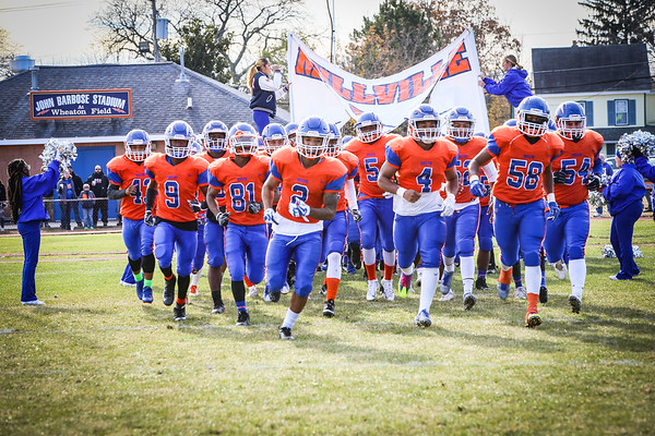 Millville Football Thanksgiving 2017