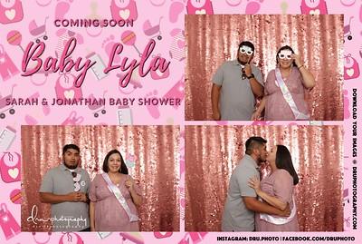 sarah baby shower
