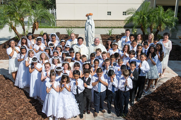 St Matthew Parish First Holy Communion