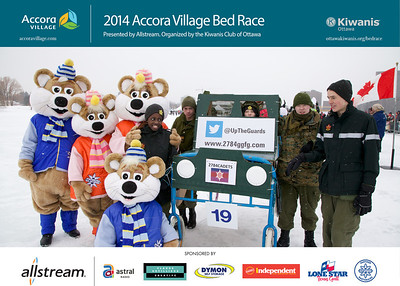 2014 Bed Race Teams