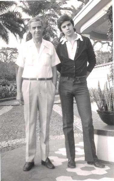 Director-Geral Jorge Viegas e o filho Jorge