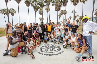 Venice Beach Skate Dance Plaza