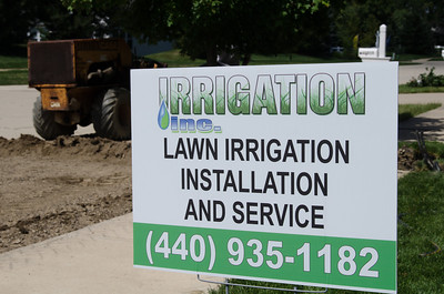 Irrigation Inc Job site