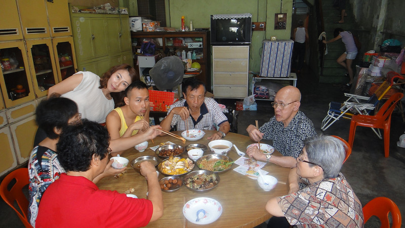 February 2, 2011 - 2011 CNY 3rd Day - Dinner with Tan Family @ Sg. Siput