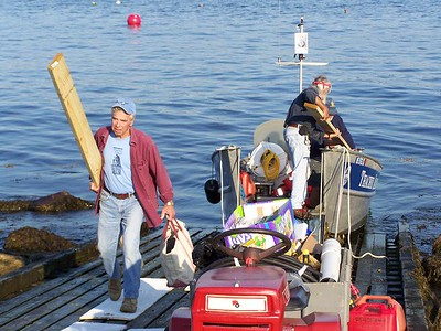 Workcrew on Thacher Island 2008