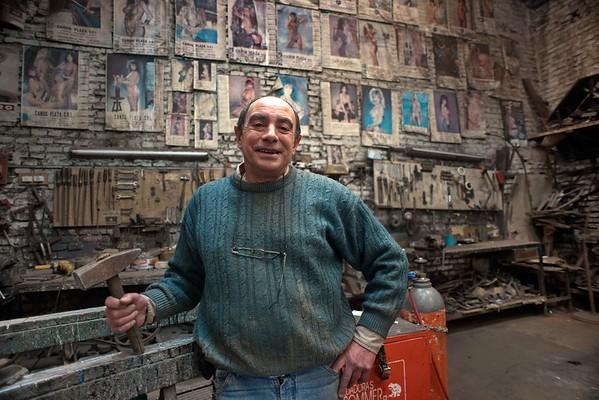 Buenos Aires: retratos fotográficos de gente que labura
