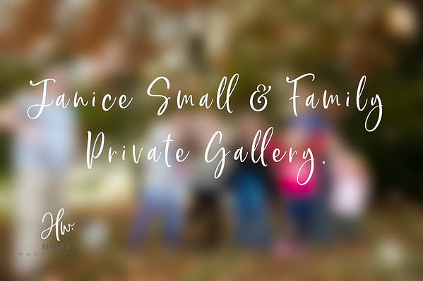 Janice Small & Family  ( iPhone and Device Files)