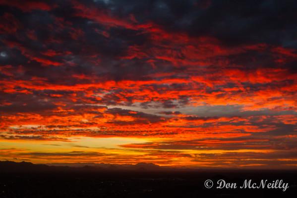 Sunrise 11-20-16 Lookout Mnt Phoenix